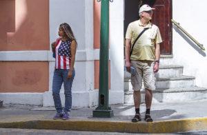 Imagen de hoy sobre política migratoria entre México y Estados Unidos.