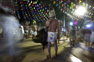 Ritual del Kots Kaal Tso, danza ritual de origen maya en honor a Santa Inés en donde la figura principal es el pavo
