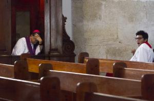 A la baja religión católica en Mérida