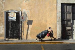 Problema de la basura en la ciudad