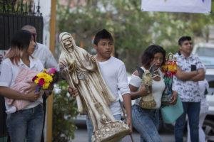 Ritual de la Santa Muerte en Mérida 2
